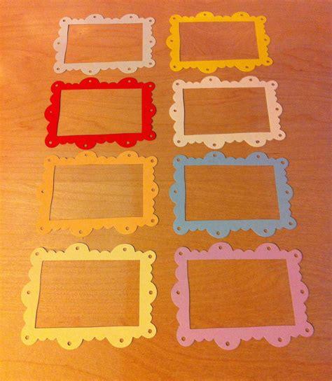 cornici cartoncino cornici in cartoncino fustellato frame scallop ornate