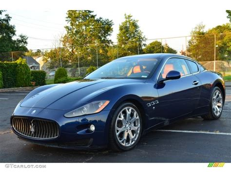 2008 Maserati Granturismo Blue 200 Interior And