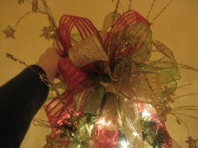 how to make bows for my christmas tree how to make a tree topper bow enticing entertaining