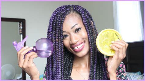 how to keep on braids how to keep hair moisturized in braids 4c hair