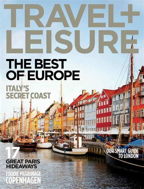 design magazine europe 25 best travel and leisure covers images on pinterest