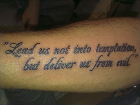 lords prayer tattoo prayer by sevenseastattoo on deviantart