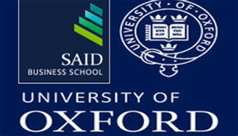 Oxford Mba Deadline by Skoll Scholarships At Said Business School For