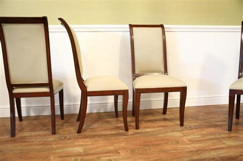 mahogany dining room table and 8 chairs set of 8 solid mahogany transitional dining room chairs sale