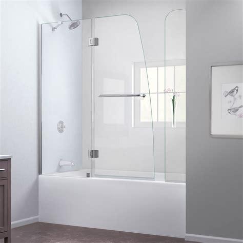 bathtubs with door bath authority dreamline aqua frameless hinged tub door