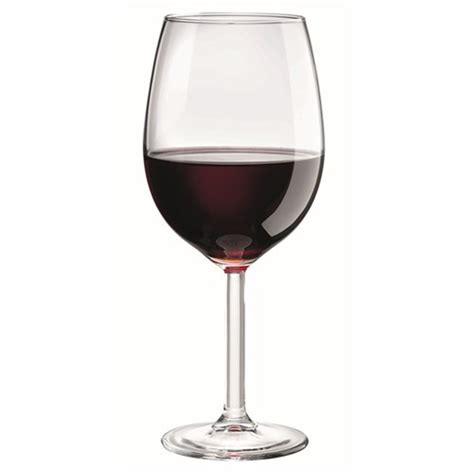 glass of wine cellar tonic 520ml red wine glass set of 6 wine