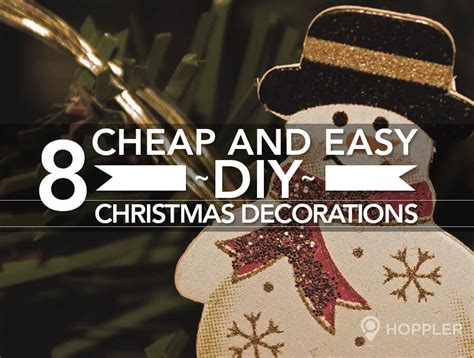 8 cheap and easy d i y decorations