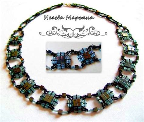 tila bead necklace patterns free pattern for necklace with tila magic