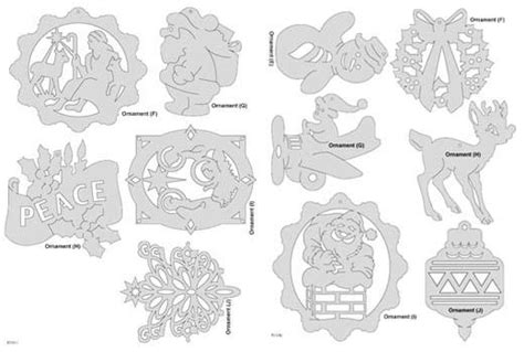 3d scroll saw christmas ornament patterns free downloadable ornament pattern pack scrollsaw