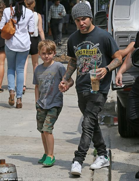Pete Wentz Gets In Another Fight by Pete Wentz With His Two Boys And Meagan Cer