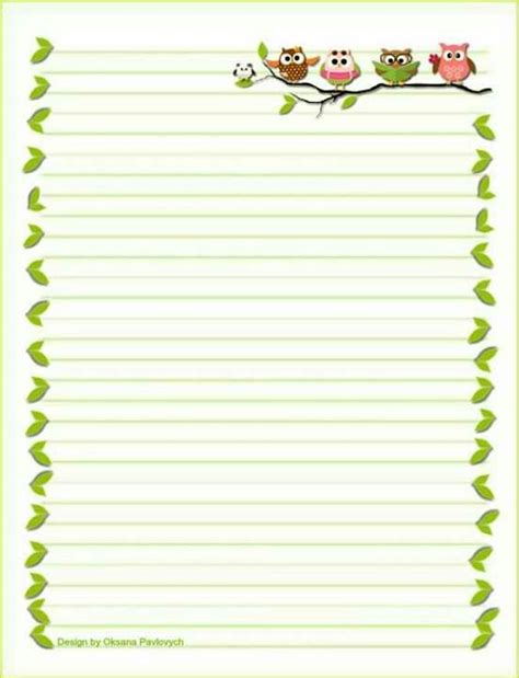 printable stationery owls 31 best 1 stationery images on pinterest letters