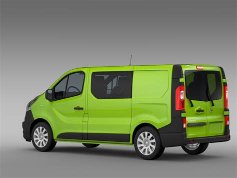 2015 opel vivaro opel vivaro multivan ecoflex 2015 3d model in lightwave