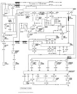 1985 ford ranger i need the electrical wiring diagram voltage