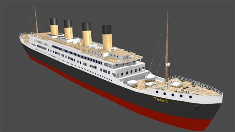 titanic boat scene script rms titanic by samuelt3d 3docean