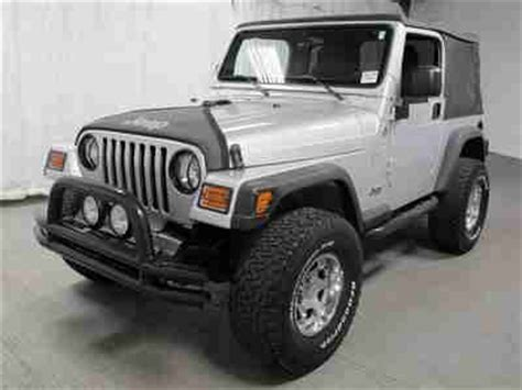 2005 Jeep Wrangler Tires Sell Used 2005 Jeep Wrangler Sport 4x4 Manual Soft Top 4