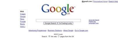 google home design google homepage design experiment