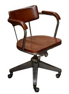 fauteuil de bureau industriel en acier pyramide