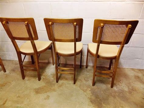 Mid Century Folding Chair by Stakmore Folding Chairs Mid Century The