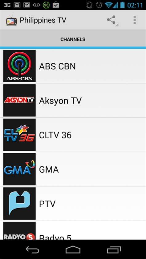 Philippines Search Free Channel Tv Onlin