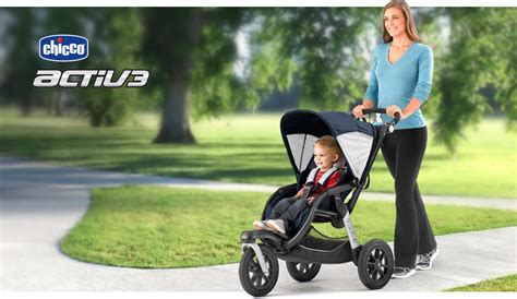 Celana Colorjogger My Trip My Adventure chicco activ3 stroller