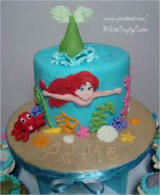 the little mermaid cake and cupcake tower ariel the little mermaid cake and cupcake tower