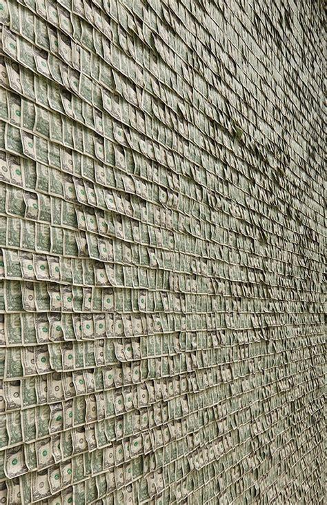 room of money commercialism illustrated the room adorned with 100 000 dollar bills bit rebels