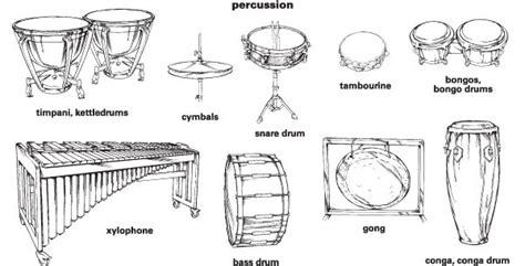 percussion family coloring page nedir vurmalı 231 algılar
