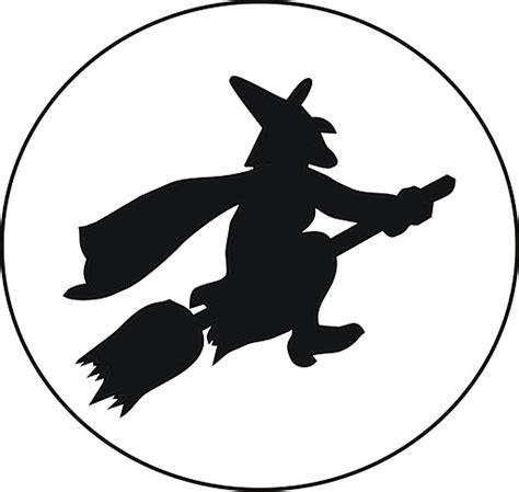 imagenes de brujas volando halloween silueta bruja volando dibujalia dibujos para colorear