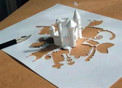origami castle by jdwhack on deviantart