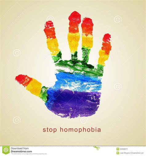 Abstract Vases Stop Homophobia Stock Photo Image 40444517