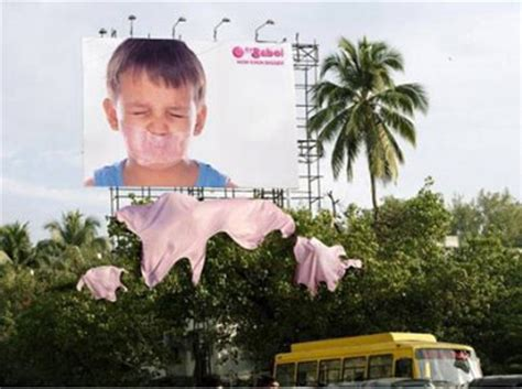 babol ads clever bubble gum advertising caigns