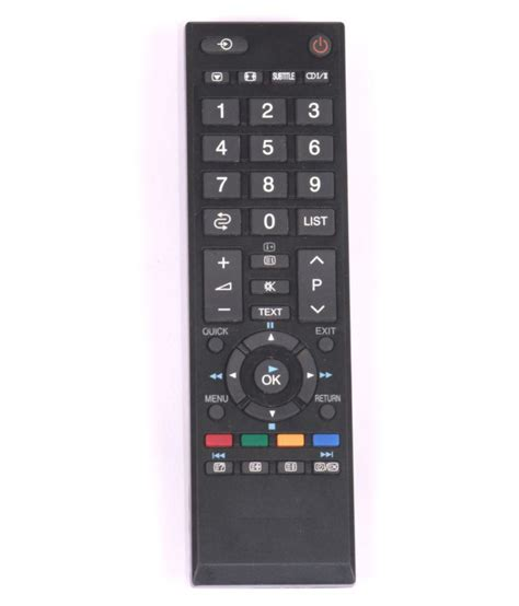Remote Tv Lcd Led Toshiba Ct 90380 Kw 1 buy r shop ct 90380 tv remote compatible with toshiba led lcd tv at best price in india