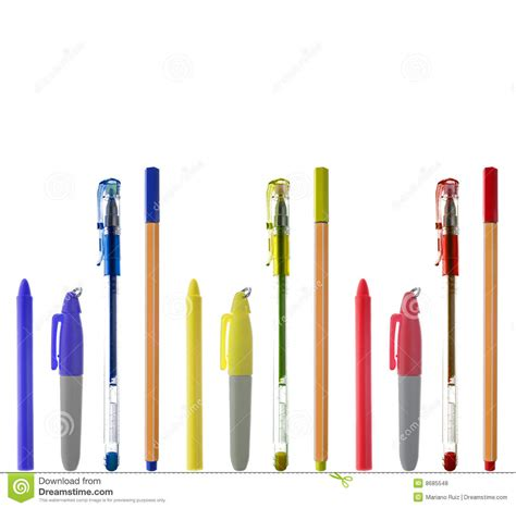 colorful office supplies royalty free stock image image office supplies royalty free stock photos image 8685548