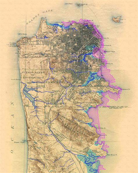 san francisco map marina district sfmaps