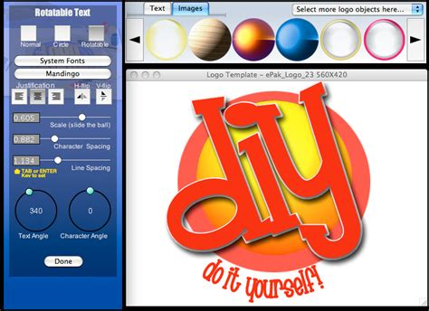 logo layout maker the logo creator 5 2 screenshots