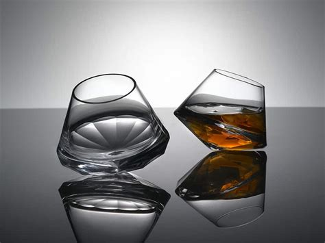 stemless drinking glasses   chic home bar