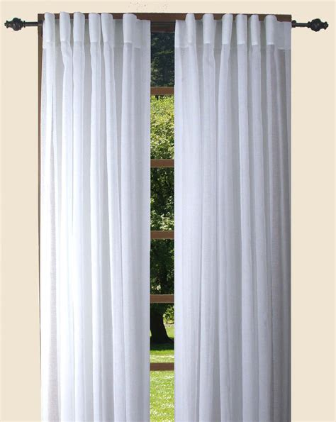 104 inch curtains ricardo trading lucerne semi sheer back tab panel pairs