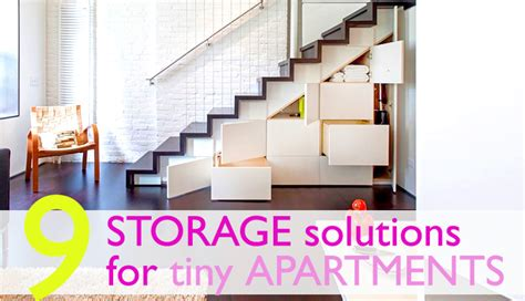 9 clever storage solutions for small spaces inhabitat