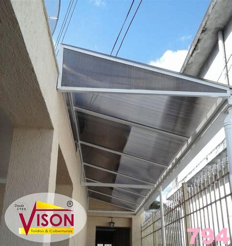 toldo de policarbonato toldos de policarbonato para janelas vison toldos e tendas