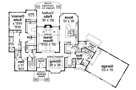 house plans with apartment attached house plans with attached apartment house style and
