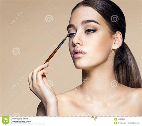 Is Positively Enchanting Lipstick Powder N Paint by Lipstick Eyeshadow Stock Image Cartoondealer