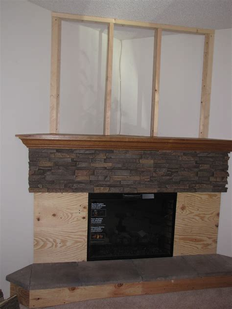Fireplace Panels by Classic Fireplace Redesign Project Creative Faux Panels
