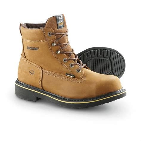 wolverine steel toe boots s wolverine 174 6 quot steel toe eh foster durashocks 174 boots