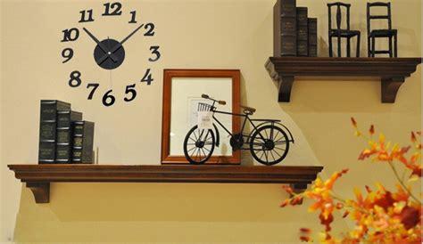 Jam Dinding Unik Artistik Black Owl Wall Clock Diskon diy wall clock 30 50cm diameter elet00666 jam dinding