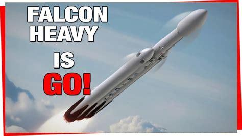 elon musk falcon heavy elon musk confirms spacex falcon heavy launch date falcon