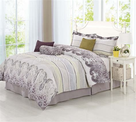 Bedroom Curtains With Matching Bedspreads 2016 100 Polyester Bedding Comforter Set With Matching