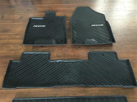 Acura Mdx Floor Mats by Sold Oem Acura Mdx All Weather Mats Cargo Mat 2014 2016