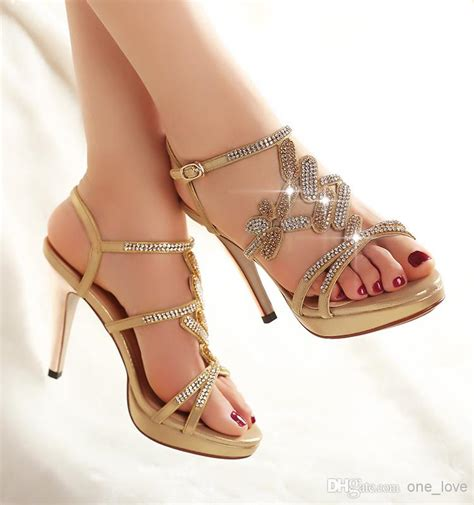 Sepatu Blue Heels Sandal sparking sandal light gold blue 10cm high
