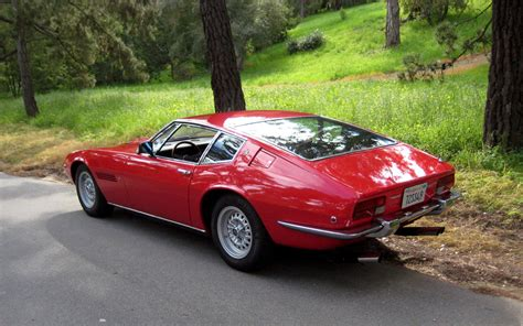 Old And Classic Maserati Car Pictures Maserati History