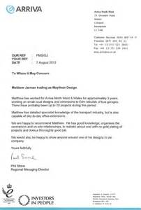 reference template uk maydean design architectural services reference letter
